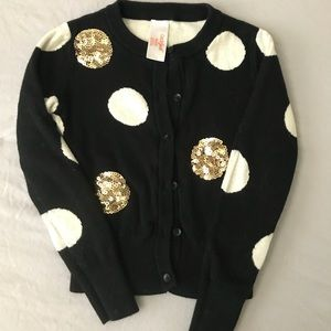 Other - POLKA DOT GIRLS CARDIGAN SIZE 4/5